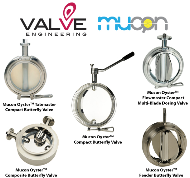 Mucon Oyster Butterfly Valves