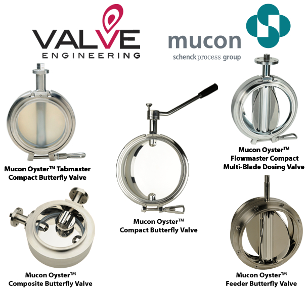 Mucon VE Hygienic Butterfly Valves