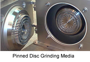 Pinned disc media