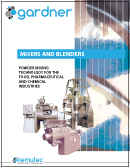 Gradner Mixers and Blenders Brochure - Kemutec