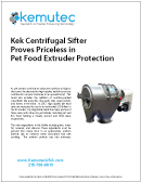 Kek Sifter Pet Food Extruder