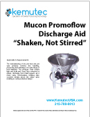 Mucon Promo-Flow Discharge Aid Shaken Not Stirred