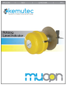 Mucon Rotalog Paddle Switch - Kemutec