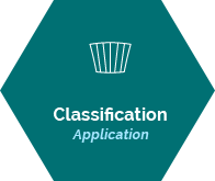 Classification application