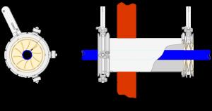 Mucon K Series Iris Diaphragm Valve for Cable Glanding