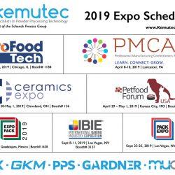 Kemutec 2019 Exhibition Schedule