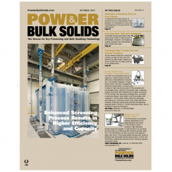 Kek Centrifugal Sifter featured in Powder Bulk Solids