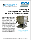 GKM Carboxymethyl Cellulose White Paper - Kemutec