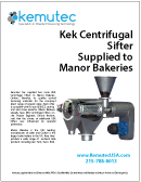Kek Cantilevered Sifters Supplied to Manor Bakeries