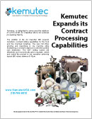 Kemutec Expands Its Contract Processing Capabilities
