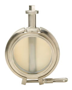 Mucon Oyster Tabmaster Compact Hygienic Butterfly Valve
