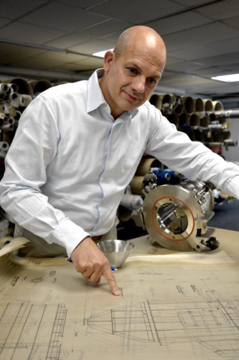 Johan Lucas Examines Blueprints