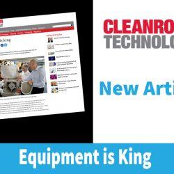 Cleanroom Technology Equipment is King Kemutec