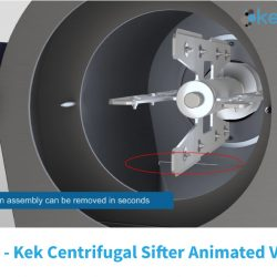 New Kek Centrifugal Sifter Animated Video