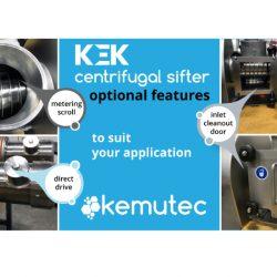 Kemutec Kek Sifter Optional Features